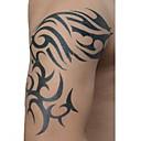 1pc vandtæt tatoveringer sort totem arm tatovering sticker til kropskunst