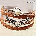 Eruner®Women's Peace Wing Pearl Braided Bracelet