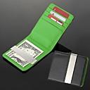 personalizado engravable dom de metal leatheroid prata preto dinheiro carteira verde clipe
