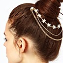 Buy Toonykelly Fashion Gold Plated Flower Hair Jewelry Combs Piece Crystal Women (1 Pc)