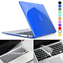 Hat-Prince Crystal HD Hard Protective PC Full Body Case and Keyboard Film for MacBook Air 11.6