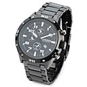 CURREN 8021 Stylish Water Resistant Quartz Wrist Watch  (Black) Cool Watch Unique Watch