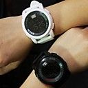 Buy Couple's Circular Quartz Fashion Belt Watch(Assorted Colors) Cool Watches Unique