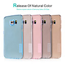 NILLKIN Ultra-thin Protective TPU Back Cover Case for Samsung Galaxy S6 Edge (Assorted Colors)