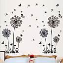 Fashion Dandelion PVC Wall Sticker