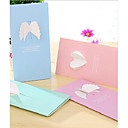 Three-Dimensional Wings Love Greeting Card(Random Color)