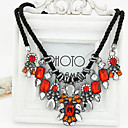 European Rhinestones Gem Fashion Woman Necklace