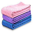 Buy WINMAX® Non Slip/Eco Friendly/Waterproof/Pink/Blue/Purple 3 mm Thick polyester Yoga Towels Black Bag Packing