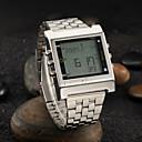 Buy Men's Watch Dress Calendar LED Alarm TV Remote Control Function Wrist Cool Unique Fashion