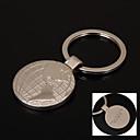Presente Personalizado Keychain - de Aço Inoxidável - Amantes