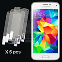GYM 5pcs HD Screen Film for Samsung Galaxy S5 Mini
