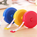 Retractable Type Plastic Tape Measure (Random Colors)