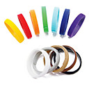 12 Colors Whelping Puppy Kitten ID Collars Bands Soft Velcro Adjustable for Pet Dogs