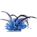 Couronnes/Coiffure/Fleurs Casque Mariage/Casual/Outdoor/Occasion spéciale Mousseline/Dentelle/Imitation de perle Femme