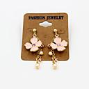 Fashion Flower Pearl Earring Drop Earrings