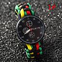 der neue Herrenmode-Marke Uhren hot Uhren Quarzuhr mit drei Farb geflochten
