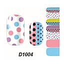 14.5*7.5*0.1 - Κινούμενα σχέδια/Lovely - 3D Αυτοκόλλητα Νυχιών - από Άλλα - για Δάχτυλο