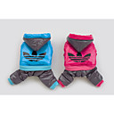 Pet Clothes New Style Blue/Rose  Cotton Coats/Hoodies For Dogs