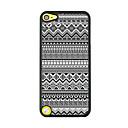 geometrisch patroon lederen ader patroon harde case voor ipod touch 5