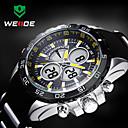 Buy WEIDE® Men Sporty Analog Digital Watch Rubber Strap Stopwatch/Alarm Backlight/Waterproof Wrist Cool Unique Fashion