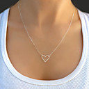 Buy Necklace Pendant Necklaces Jewelry Party / Daily Casual Fashion Alloy Silver 1pc Gift