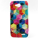 Buy Painted Pattern TPU Material Soft Phone Case LG L90 D405
