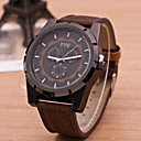 Buy Men Watch Luxury Brand Beinuo Quartz Watches Leather Casual Male Clock Relojes Hombre Relogio Masculino Wrist Cool Unique
