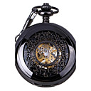 Men's Retro Hollow Out Mechanical Pocket Watch Brand New Mechanical Hand Wind Watches
