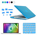 Enkay 4 en 1 cristal estuche protector duro + protector de la pantalla + teclado + tapones de película anti-polvo para MacBook Pro 13,3