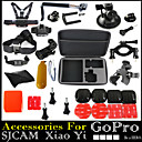 30pcs In 1 Gopro Accessories Mount / Straps / Bags/Case / Adhesive / Accessory Kit ForGopro Hero 2 / Gopro Hero 3 / Gopro Hero 3+ / Gopro