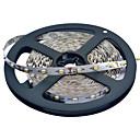 JIAWEN® 5 M 300 3528 SMD Warmweiß / Weiß Schneidbar / Verbindbar 25 W Flexible LED-Leuchtstreifen DC12 V