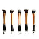 Powder Blush Blusher Foundation Contour Makeup Brushes Set Cosmetic Tool(Golden)