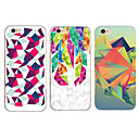 maycari® monde de dimension transparent en TPU pour iPhone 6 6s / iphone (couleurs assorties)