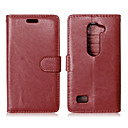 Buy LG Case Card Holder / Wallet Stand Flip Full Body Solid Color Hard PU Leather