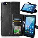 Buy Luxury PU Leather Wallet Flip Card Slot Photo Frame Stand Cover Huawei Honor 4X