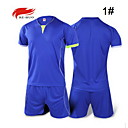 Buy Men's Soccer Shirt+Shorts Clothing Sets/Suits Breathable Summer Fall/Autumn Classic Fashion 100% Polyester Football/Soccer Sky Blue