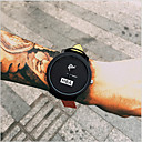 mode bracelet en cuir unisexe montres à quartz hommes femmes habillent militaire de sport de la montre-bracelet RELOJES Genève