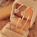 Buy Diamond Double Love Alloy Bracelet Chain & Link Bracelets Daily / Casual 1pcinspirational bracelets Jewelry Christmas Gifts