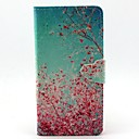 Buy Finger Buckle Red Tree Painted PU Phone Case Huawei P8 Lite