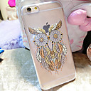 Buy Owl Pattern TPU Transparent Soft Shell Phone Case Back Cover iPhone6/6S