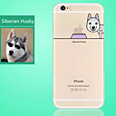 Buy Siberian Husky Dog Pattern Ultrathin Transparency TPU Material Soft Phone Case iPhone 6S/6