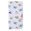 Buy Butterfly Flying Painted PU Phone Case Huawei P8 Lite