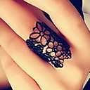 Buy European American Style Retro Hollow Carved Flower Opening Mysterious Lace Ring