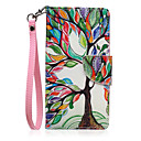 Buy Lanyard Colors Tree Pattern PU Leather Material Phone Case Huawei P8 Lite