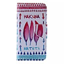 Buy Hakuna Matata Pattern Cell Phone Leather iPhone 6/6S