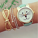Buy Women Watches, Kitty Watch, Cat Watch,Vintage Leather Jewelry Handmade, Bracelet Wrist Watch Cool Watches Unique Fashion