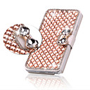 Luxury Bling Crystal Diamond Leather Flip Bag Cover For Samsung Galaxy S3/S4/S5/S6/S6 Edge/S6 Edge Plus