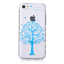 Buy Tree Pattern Waves Slip Handle TPU Soft Phone Case iPhone 5C