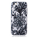Buy Flower Pattern Waves Slip Handle TPU Soft Phone Case iPhone 5C