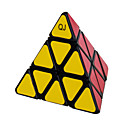 QJ Pyramid Magic Cube Ball Locate Triangle Cube (Black Edge)